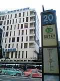 渋谷駅西口バスターミナルにて