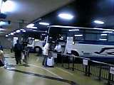 困惑 22時45分名古屋駅バスターミナル