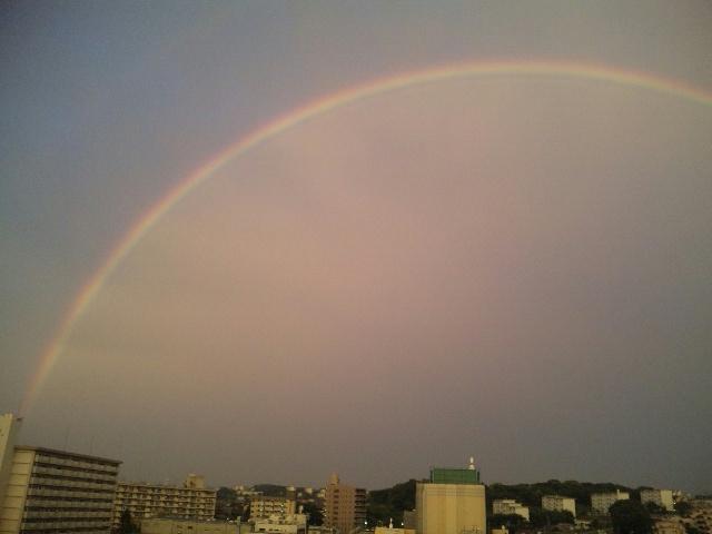 夏になる依頼が増える虹も出る