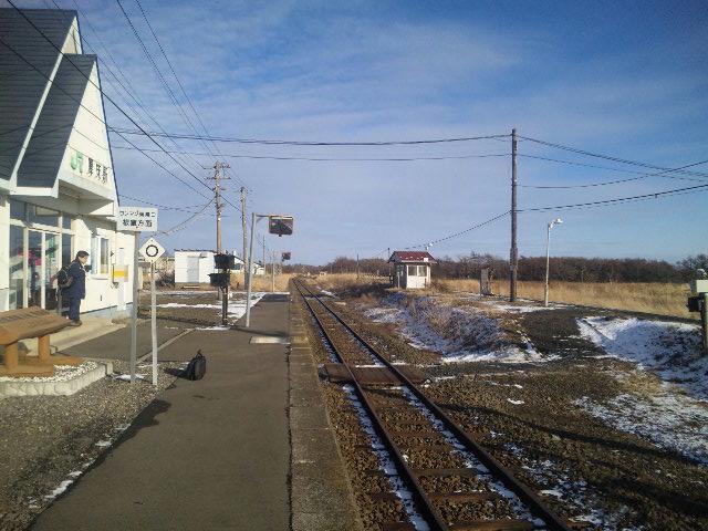 音のない岬 音のない駅