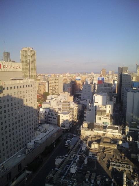 本年初出張は大阪へ