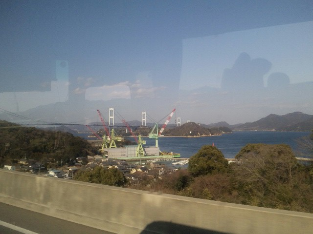 瀬戸内海から日本海へ