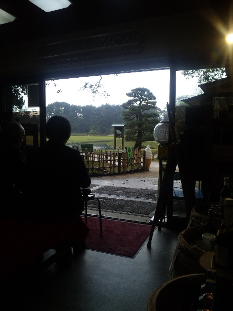 雨あがりの後楽園に、チャーミーグリーンな夫婦を見たか?