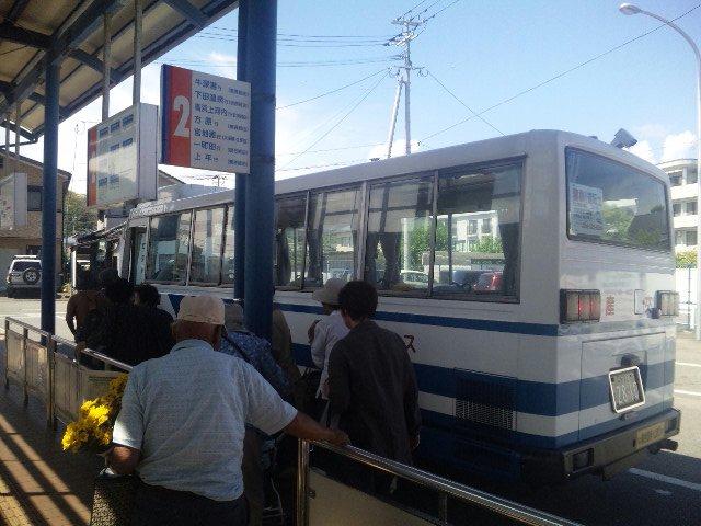 難解な路線バスで行く天草岬めぐりの旅