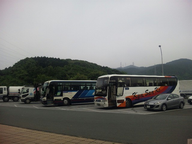 まず小倉から、長崎へ