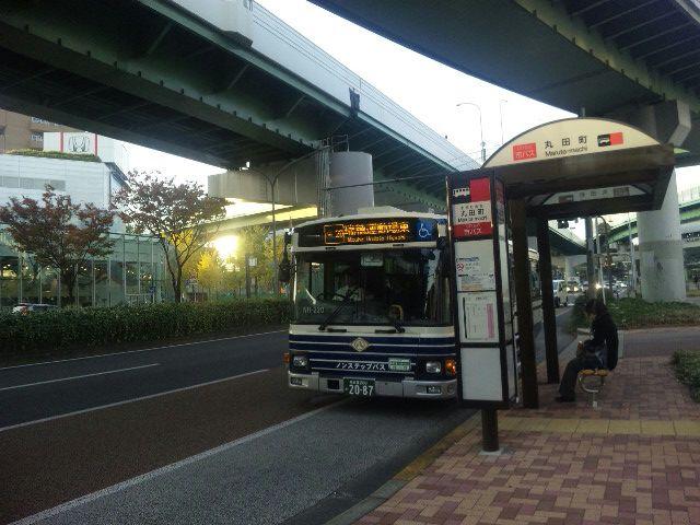 丸田町→鶴舞公園前