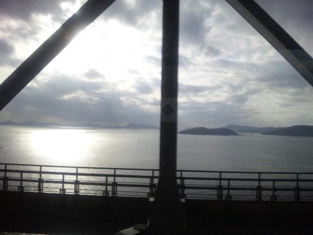 松山から岡山へ