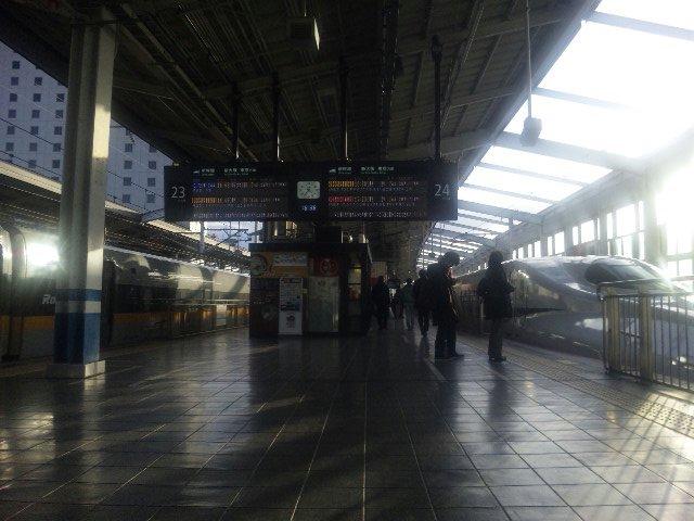 岡山から新大阪へ