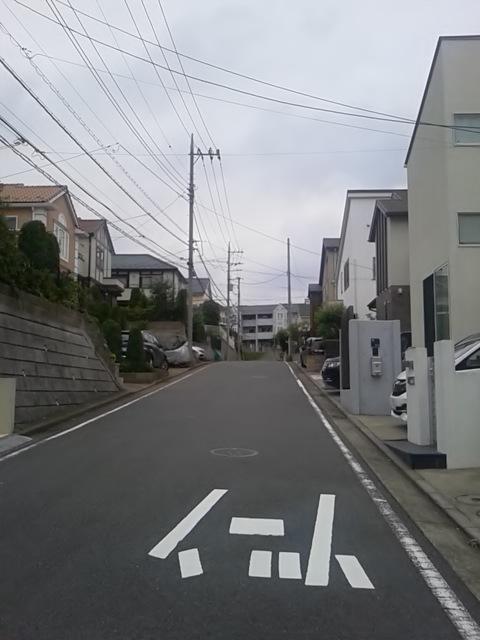 田んぼから住宅街へ(東京出張、1日目)