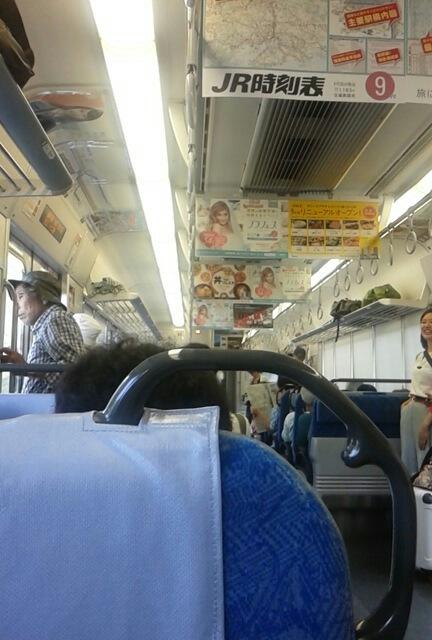 次の列車は2時間後:中央本線中津川~塩尻