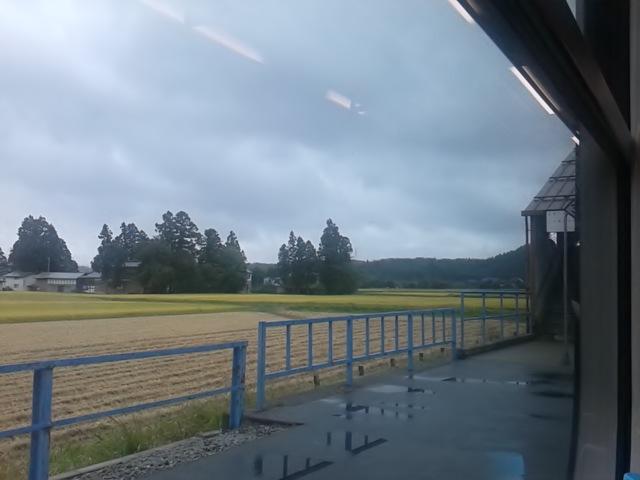 現在絶賛停車中:米坂線羽前椿