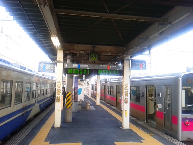 2時間40分対1時間50分:奥羽本線東能代