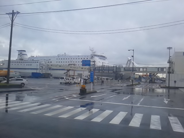 ケータイしまって、船の旅:仙台港~名古屋港